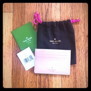 Kate Spade NWT graham wellesley card case